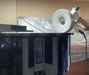 ピアノクリーニング・機械研磨